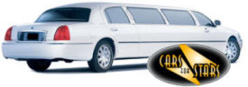 Limo Hire Baxley - Cars for Stars (St. Albans) offering white, silver, black and vanilla white limos for hire