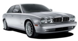Chauffeur driven cars in St. Albans area, including the long wheel based version of the new Jaguar XJ